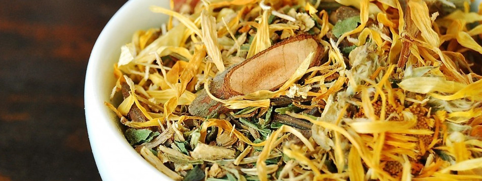 herbal tea for cold & flu