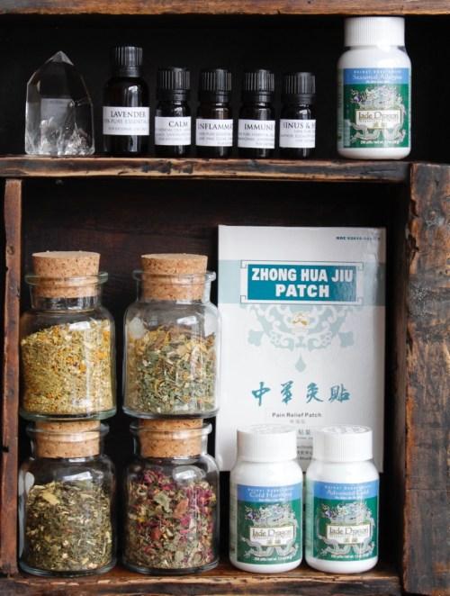 Make a Holistic Medicine Cabinet