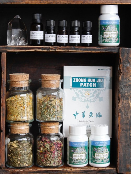Make a Holistic Medicine Cabinet