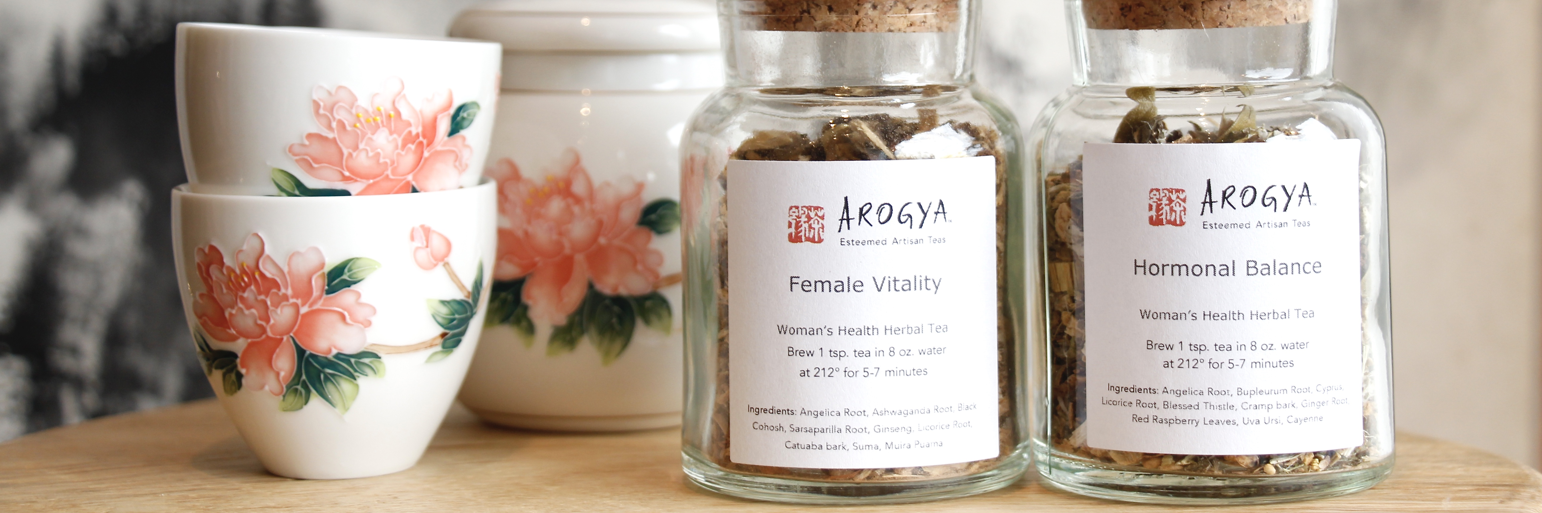 Herbal Tea for Women's Hormones