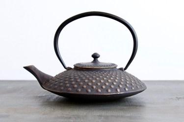 Cast Iron Hobnail Teapot