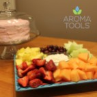Fruit Dip with Lemon Essential Oil