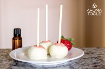 Strawberry Lime Cake Pops
