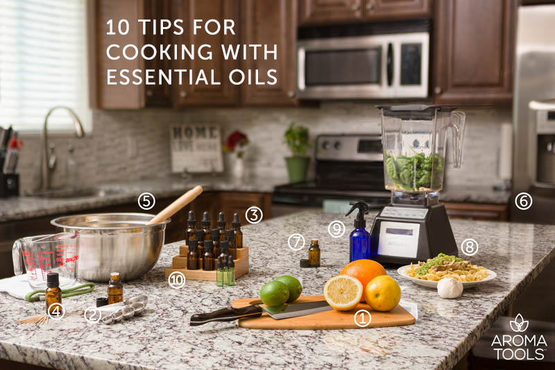Cooking With Essential Oils Faqs And Tips Aromatools Blog