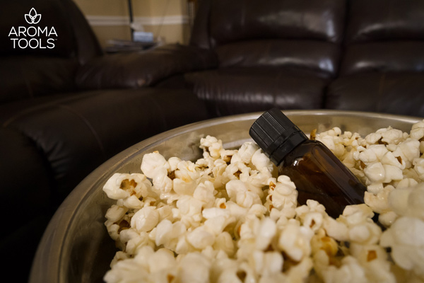 Flavor Your Popcorn with Essential Oils!