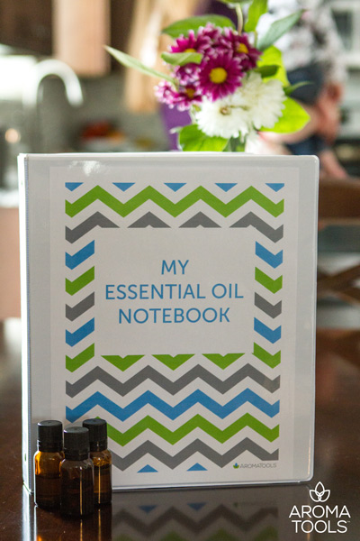 Get Organized with an Essential Oil Notebook!