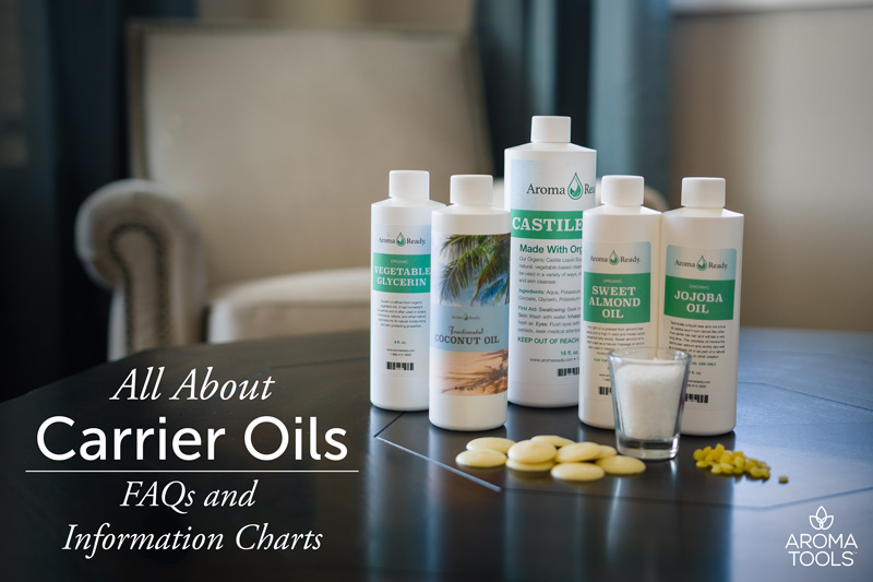 All About Carrier Oils—FAQs and Information Charts