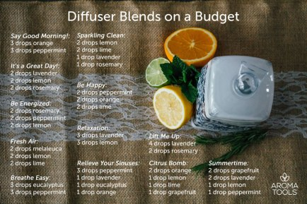 Diffuser Blends on a Budget