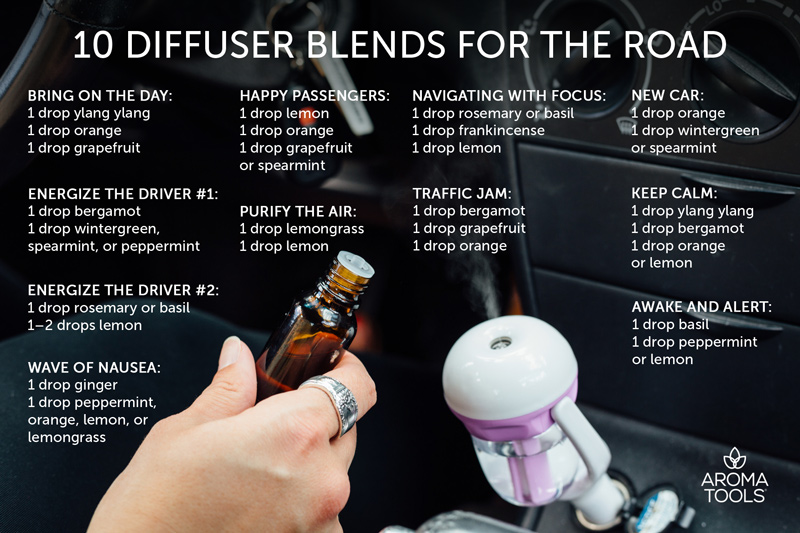 10 Diffuser Blends for the Road