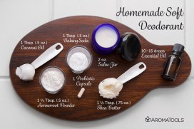 Homemade Soft Deodorant