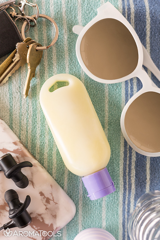 Essential Oil Sunscreen