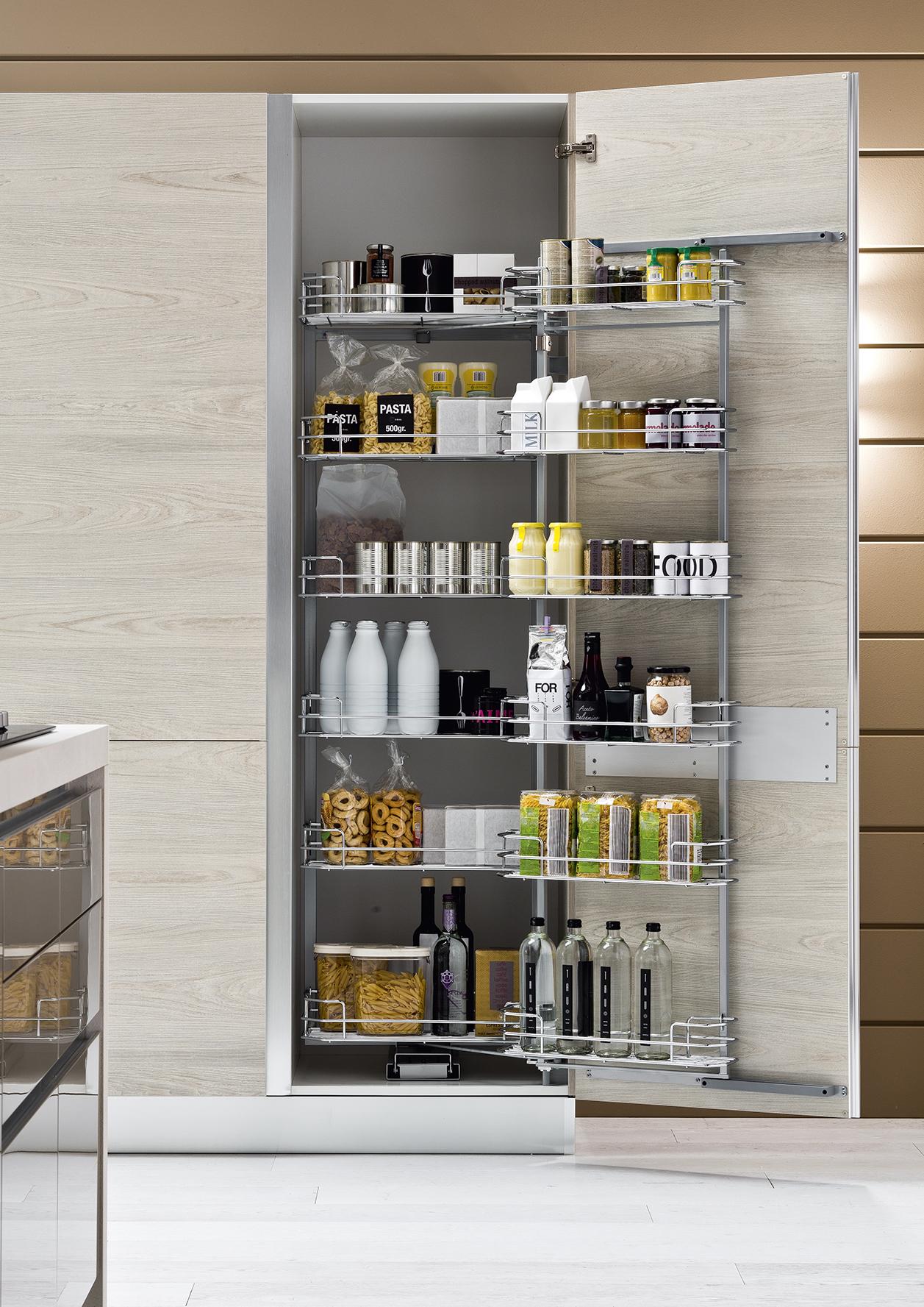 Arrex Le Cucine consiglia inserisci una colonna dispensa nella tua cucina avrai tutto in