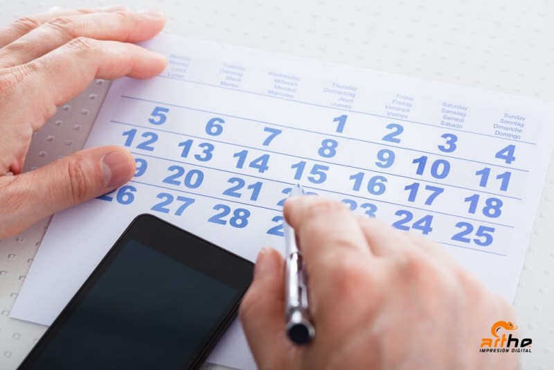 Calendario laboral GRATIS 2018