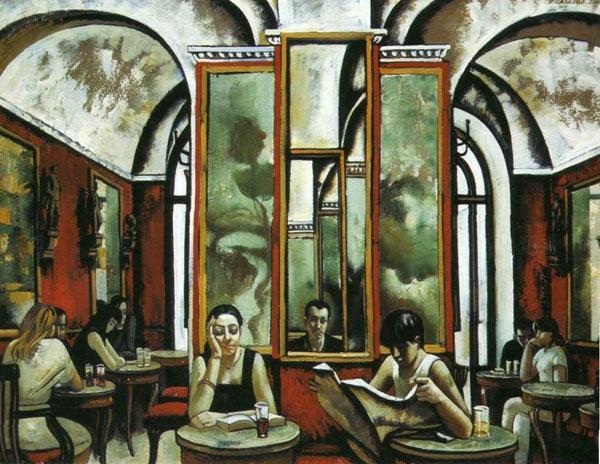 Т.Салахов. Рим. Кафе Греко. 2002 г.