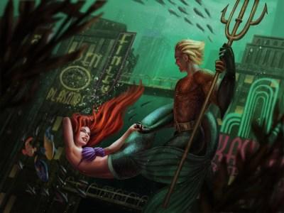 display_Ariel_and_Aquaman
