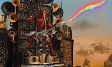 Deadpool, Print, Mad Max, Digital Art, Andy Timm
