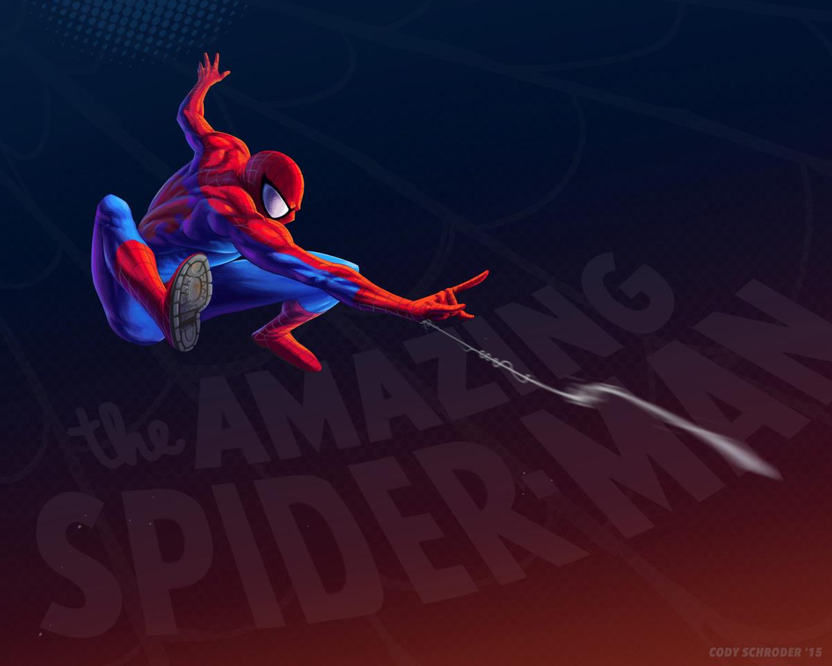 Cody Schroder's Marvel Heroes
