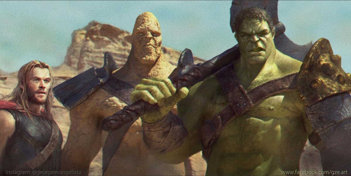 "The art of ""Planet Hulk"""
