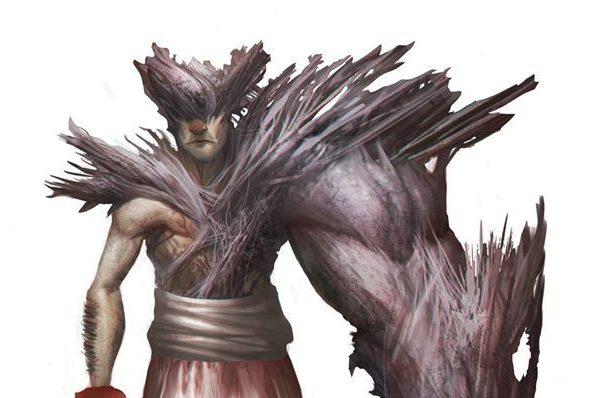 Frederico Ginabreda's Humanoid Monster