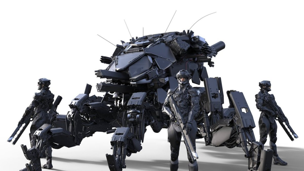Alex Figini's Mech Designs ready to rumble