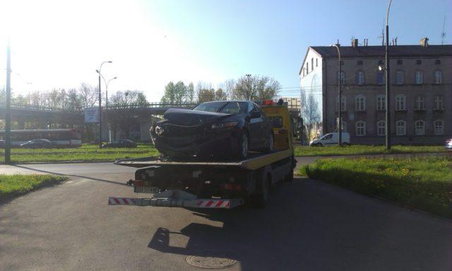Wypadek Sosnowiec