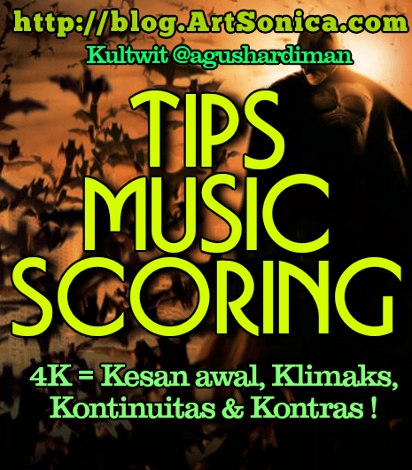 Tips Bikin Music Scoring