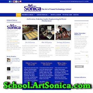 Web Sekolah ArtSonica