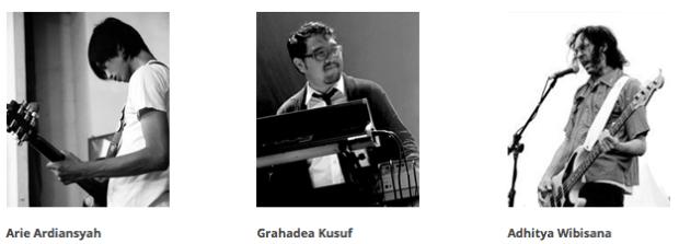 Tiga pendiri Kuassa yang berasal dari Bandung