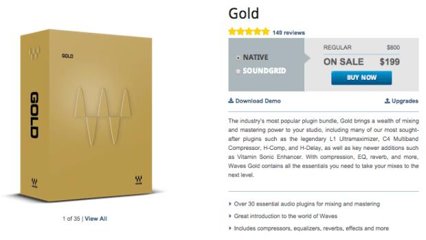 Waves Gold Sale