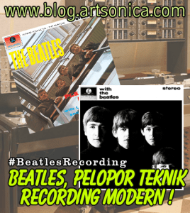 Banner Beatles Recording