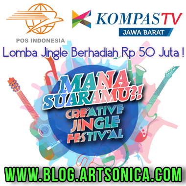 Banner Lomba Jingle Mana Suaramu 2015
