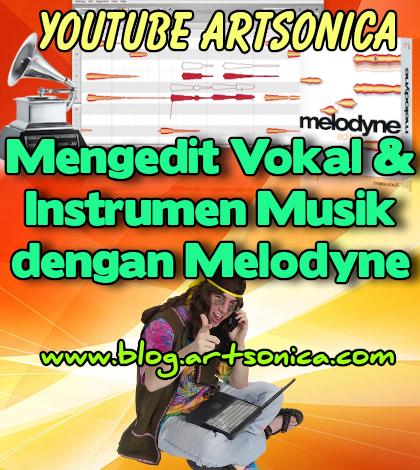 Belajar Mengedit Vokal dan Instrumen Musik dengan Melodyne