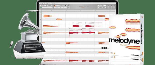 Melodyne, software buatan Peter Neubäcker yang mengkombinasikan teknik editing canggih dengan seni !