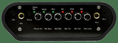 Tampak depan audio interface XOX KS105 dalam video Review XOX