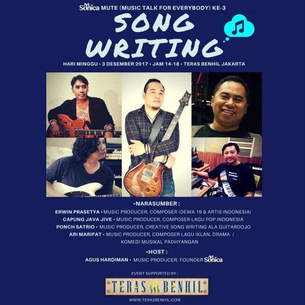 MUTE ArtSonica ke-3 Song Writing