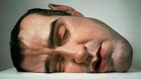 "Un autoportrait de l'artiste, ""Mask II"", 2001. Matériaux divers. Anthony d'Offay, Londres. (RON MUECK / PHOTO COURTESY ANTHONY D'OFFAY, LONDRES)"