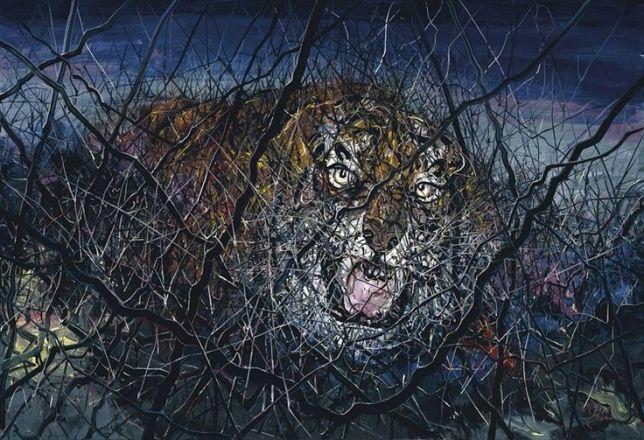 Zeng Fanzhi, the tiger