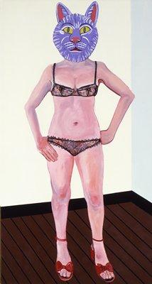 Joan Brown - Woman Wearing Mask - 1972
