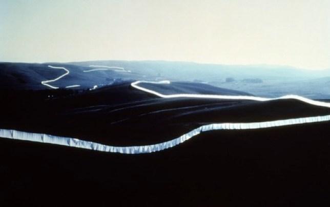Running Fence, Christo et Jeanne-Claude