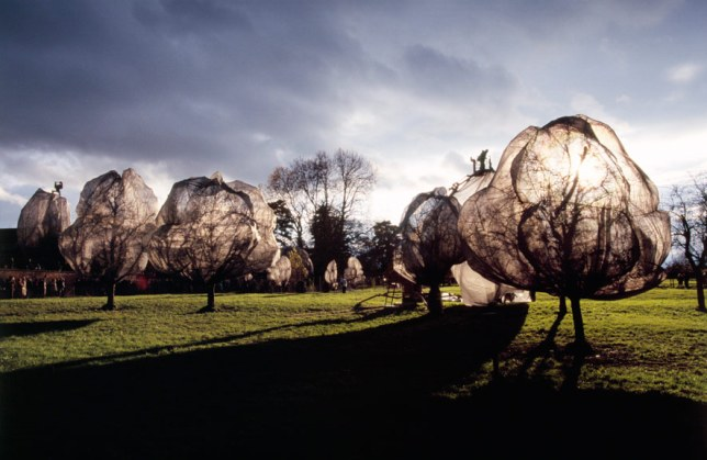 Wrapped Trees, Christo and Jeanne-Claude