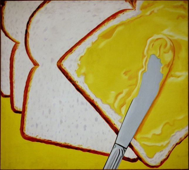 James Rosenquist, White bread