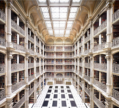 Candida-Hofer-George-Peabody Library Baltimire