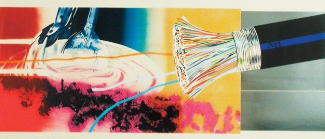 Horse blinders, James Rosenquist