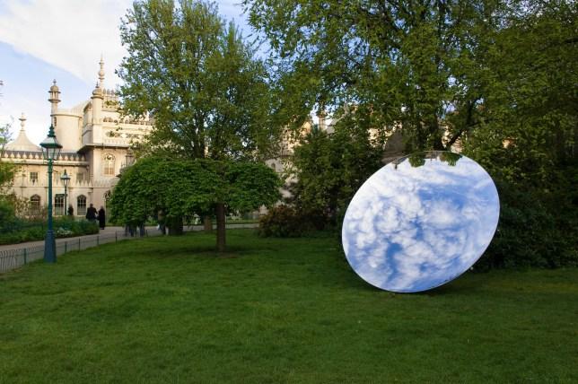 sky mirror Museum of Contemporary Art Australia