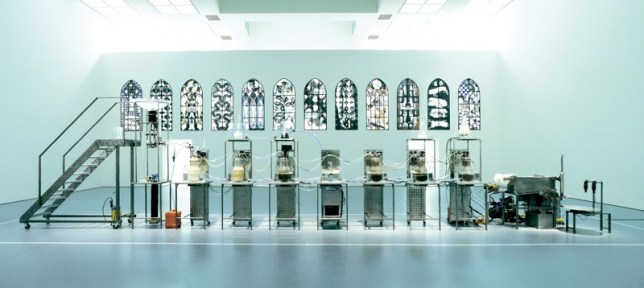 machine of Wim Delvoye Cloaca