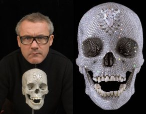 for the love of god 2008 damien hirst