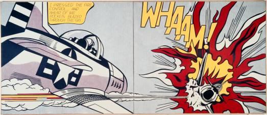 Whaam! 1963 by Roy Lichtenstein 1923-1997