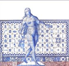 Adriana Varejão, Figura de Convite II [Figure de bienvenue II], 1998