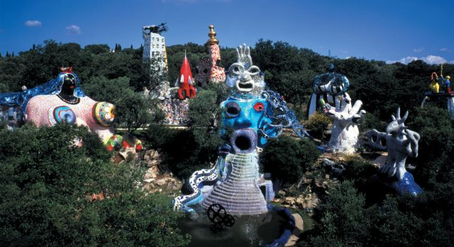 Niki de Saint Phalle, Tarots