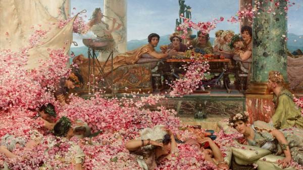 Lawrence-Alma-Tadema-The-Roses-of-Heliogabalus-1888LS